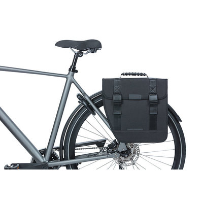 Basil Tour Left - Fahrrad Einzeltasche - 14 Liter - schwarz