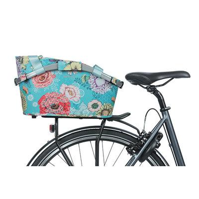 Basil Bloom Field Carry All MIK – Fahrradkorb – hinten – blau