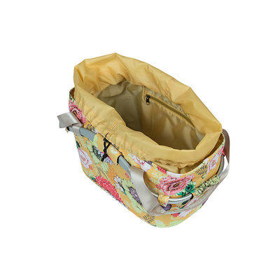 Basil Bloom Field Carry all MIK - bicycle basket - rear - yellow