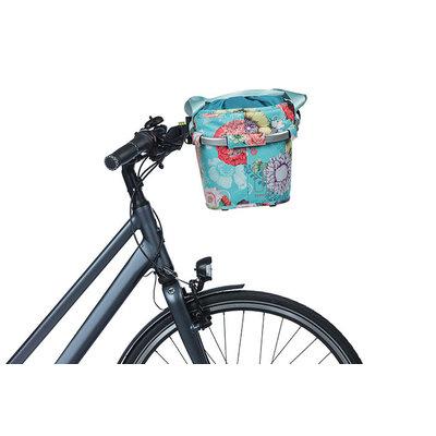Basil Bloom Field Carry All KF – Fahrradkorb – vorne –blau