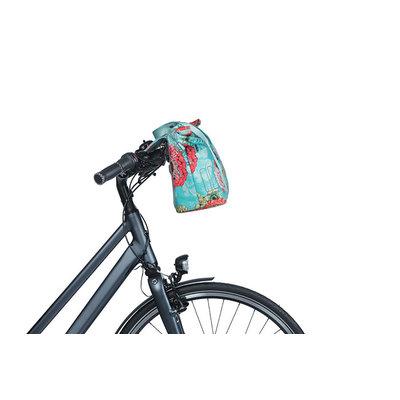 Basil Bloom Field - fietshandtas MIK - 8-11 liter - voorop/achterop - blauw