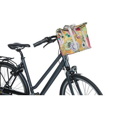 Basil Bloom Field - Fahrradhandtasche MIK - 8-11 Liter - vorne/hinten - gelb