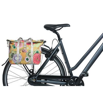 Basil Bloom Field - fietshandtas MIK - 8-11 liter - voorop/achterop - geel