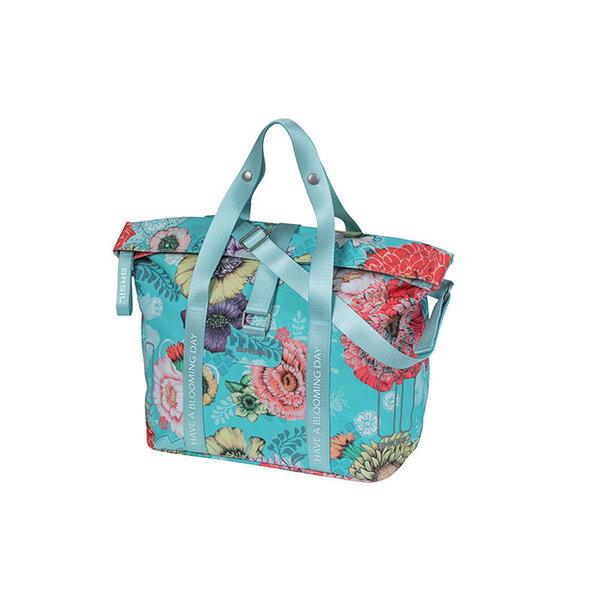 Bloom Field - bicycle handbag - blue