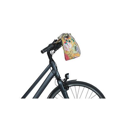 Basil Bloom Field - bicycle handbag - 8-11 liter - front/rear - yellow