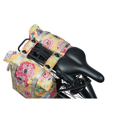 Basil Bloom Field - double pannier bag MIK - 28-35 litres - yellow
