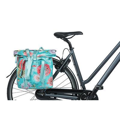 Basil Bloom Field - fietsshopper - 15-20 liter - blauw