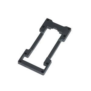 MIK Double decker - voor MIK adapterplaat - zwart