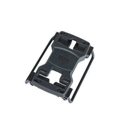 MIK pannier bag tubes - for MIK carrier plate - 2 pieces - black