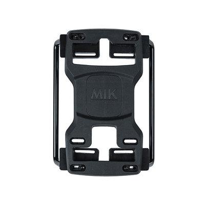 MIK pannier bag tubes - voor MIK bagagedragerplaat - 2 stuks - zwart