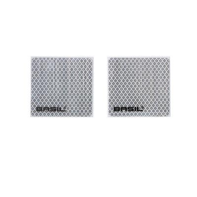 Basil Crate clicker - high reflective - 2 pieces - silver