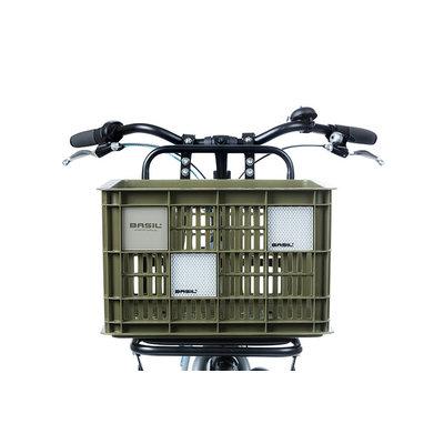 Basil Crate clicker - high reflective - 2 Stück - silber