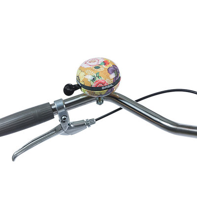 Basil Bloom Field - bicycle bell - yellow