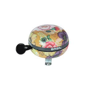 Bloom Field - bicycle bell - yellow