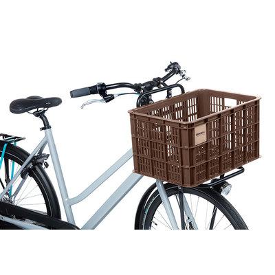 Basil Crate L - Fahrradkiste - 40 Liter - braun