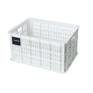 Crate L - fietskrat - wit