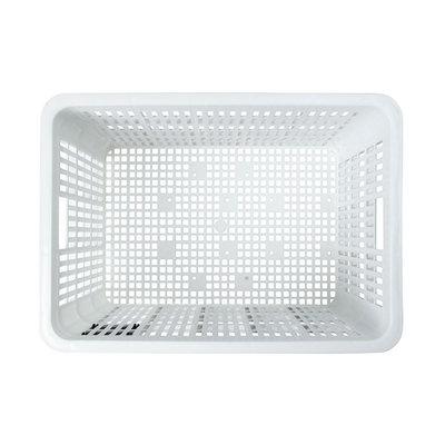 Basil Crate L - Fahrradkiste - 40 Liter - weiss