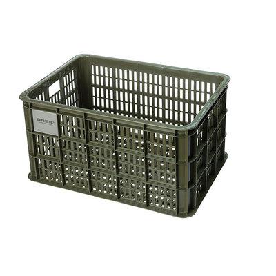 Basil Crate L - Fahrradkiste - 40 Liter - grün