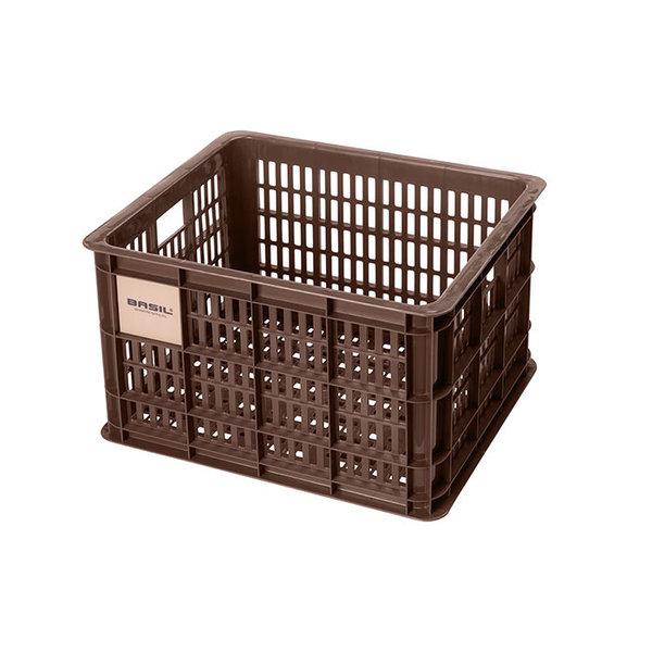 Crate M - Fahrradkiste - braun