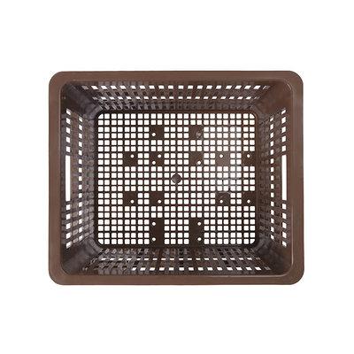 Basil Crate M - bicycle crate - 27 litres - brown