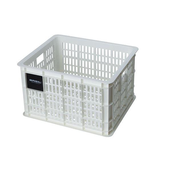 Crate M - fietskrat - wit