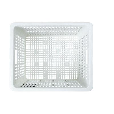 Basil Crate M - fietskrat - 27 liter - wit