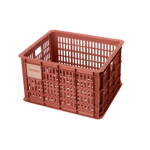 Basil Crate M - Fahrradkiste - 27 Liter - rot