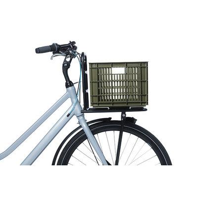 Basil Crate M - fietskrat - 27 liter - groen