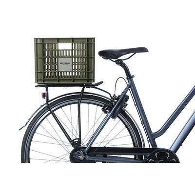 Basil Crate M - Fahrradkiste - 27 Liter - grün