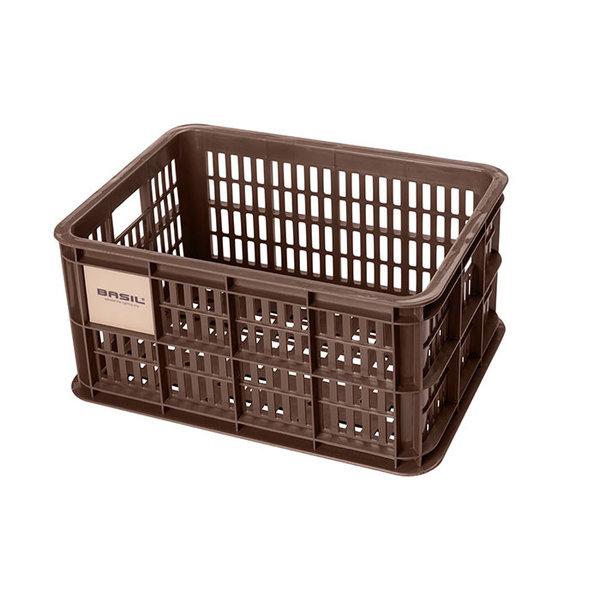 Crate S - fietskrat - bruin