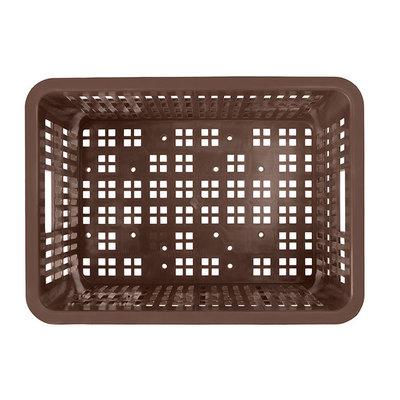 Basil Crate S - bicycle crate - 17.5 litres - brown