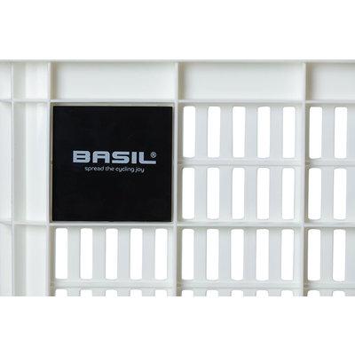Basil Crate S - fietskrat - 17.5 liter - wit