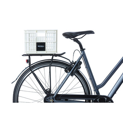 Basil Crate S - Fahrradkiste - 17.5 Liter - weisse