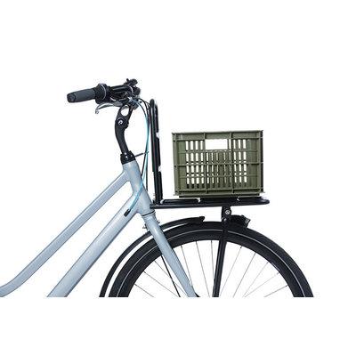 Basil Fahrradkiste S - klein - 17.5 Liter - grün