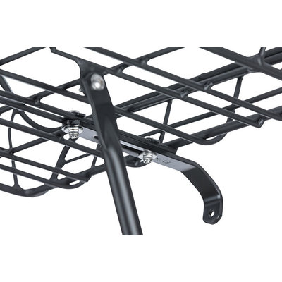 Basil Portland - fietsmand – voorop - mat zwart