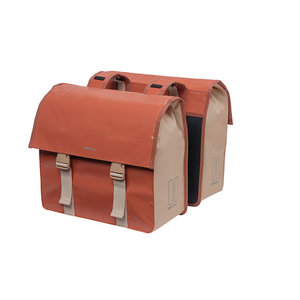 Basil Urban Load - double pannier bag - 48-53 litres - red