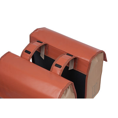 Basil Urban Load - dubbele fietstas - 48-53 liter - rood