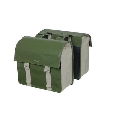 Basil Urban Load - Fahrrad Doppeltasche- 48-53 Liter - grün