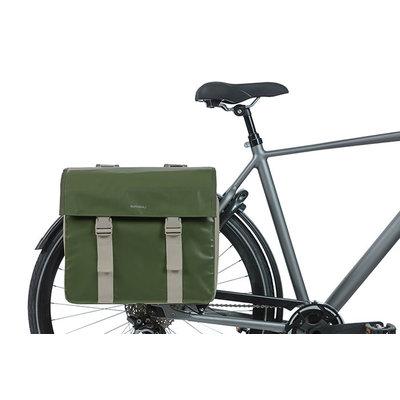 Basil Urban Load - dubbele fietstas - 48-53 liter - groen