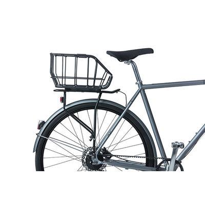 Basil Portland - Fahrradkorb MIK – hinten – chrom