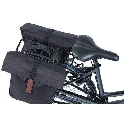 Basil City - Fahrrad Doppeltasche MIK -  28-32 Liter - schwarz