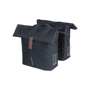 City - double pannier bag MIK - black