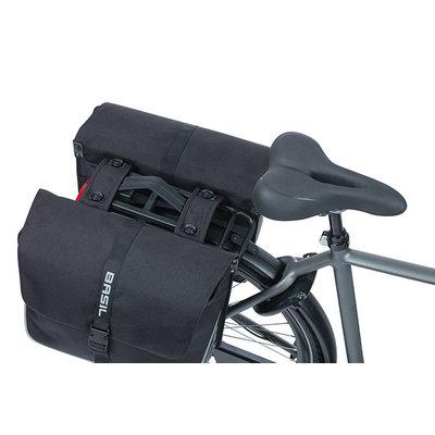 Basil Forte - double pannier bag MIK - 35 litres - black