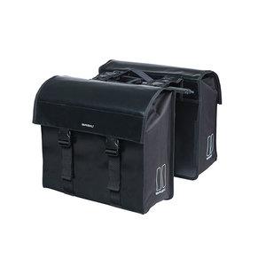 Basil Urban Load - double pannier bag MIK - 48-53 litres - black