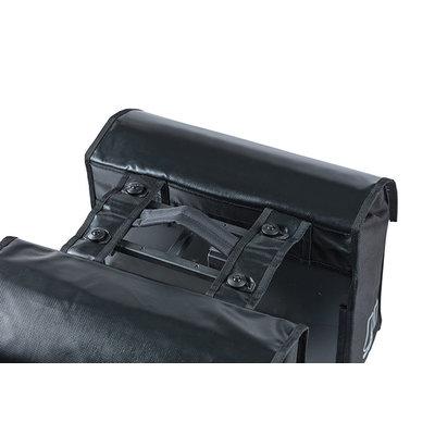 Basil Urban Load - dubbele fietstas MIK - 48-53 liter - zwart