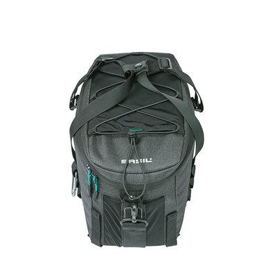 Basil Discovery 365D - bagagedragertas M - 9 liter - zwart
