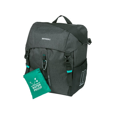Basil Discovery 365D - single pannier bag L - 20 litres - black