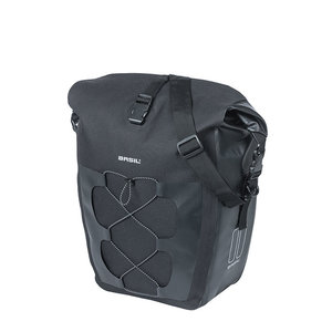 Navigator Waterproof - single pannier bag - black