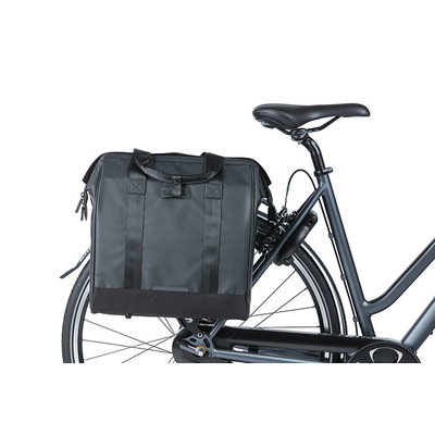 Basil Grand Tarpaulin - Fahrradshopper - 23 Liter - schwarz