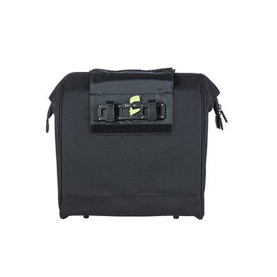 Basil Grand - fietsshopper - 23 liter - zwart